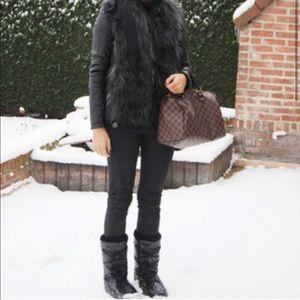 Lanvin X H&M Faux Fur Vest